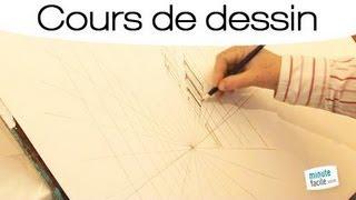 Apprendre à dessiner une rue en perspective
