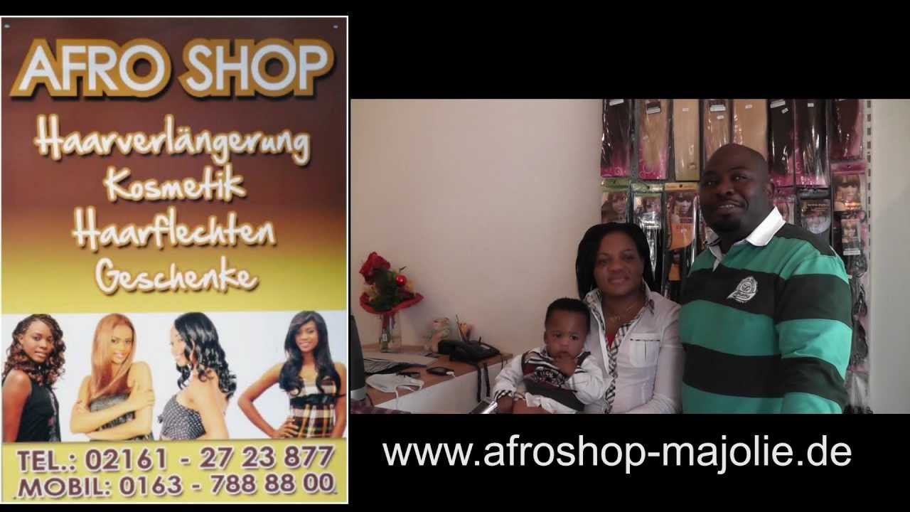 afro shop majolie in m nchengladbach unterwegs youtube. Black Bedroom Furniture Sets. Home Design Ideas