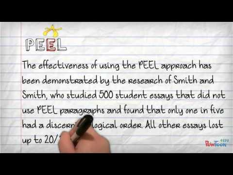 use peel in a sentence