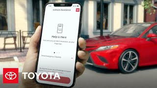 homepage tile video photo for Collision Assistance | Drive Safe | Toyota