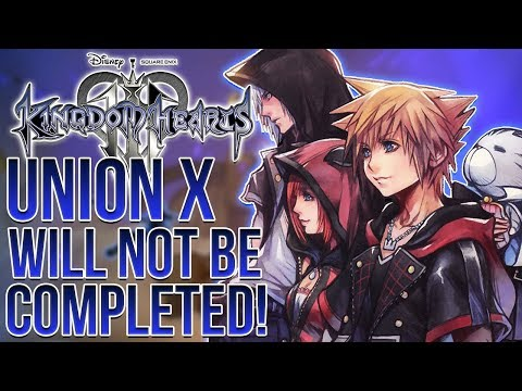Union Cross Will Not be Complete in Kingdom Hearts 3!