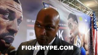 ERROL SPENCE'S TRAINER REACTS TO FLOYD MAYWEATHER DECLARING ERROL SPENCE