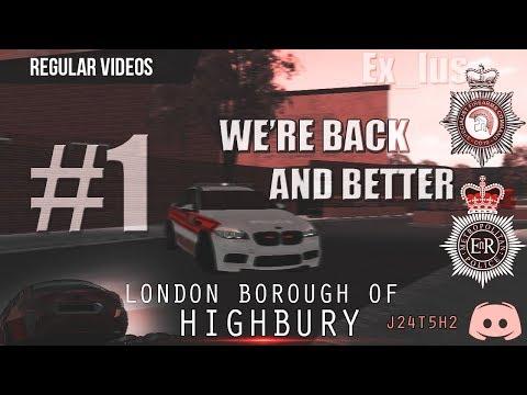 [London ] London Borough of Islington. (HIGHBURY) #1 We're back! And better!