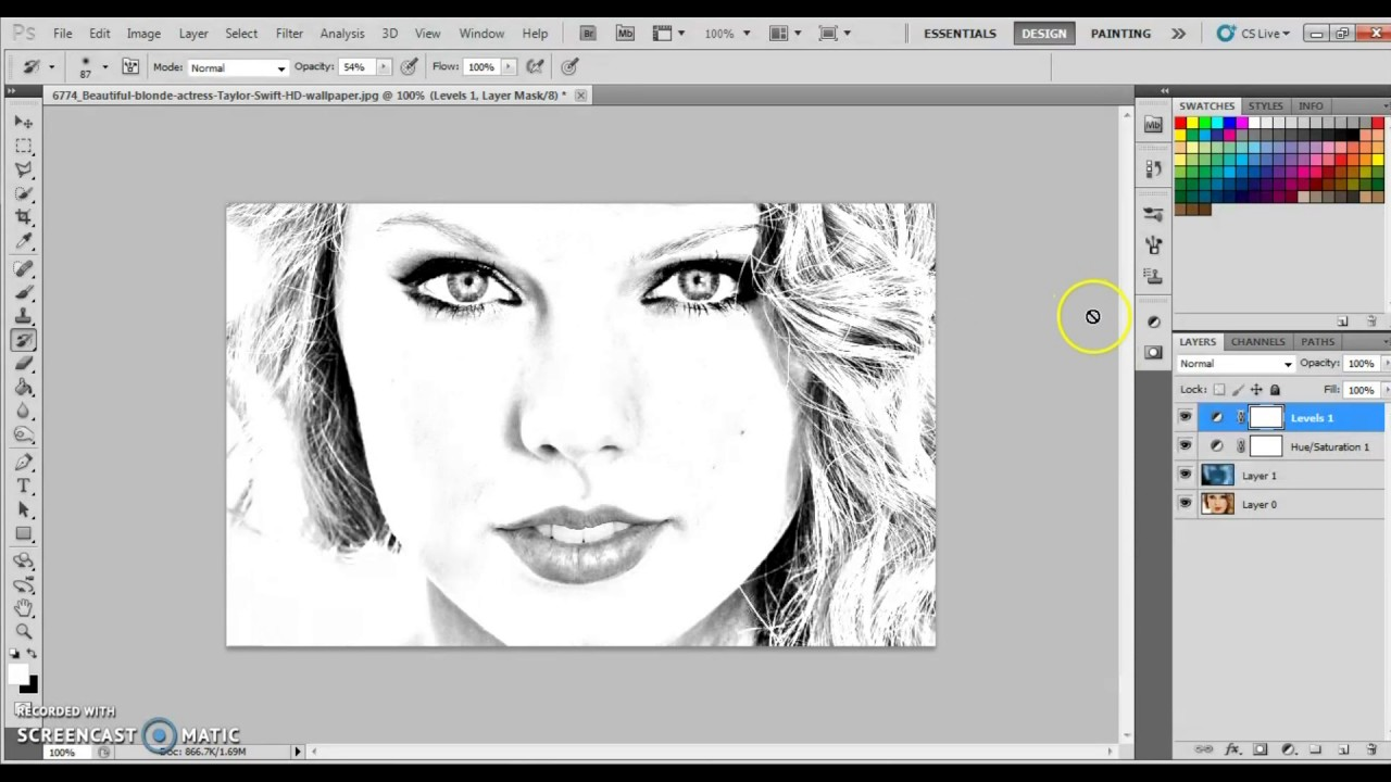 Photoshop tutorialpencil drawing effecthow to transform pictures into pencil drawing simplyeasy