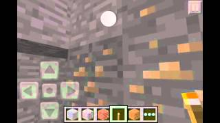Minecraft PE- Seed- Iron, Gold and Diamond