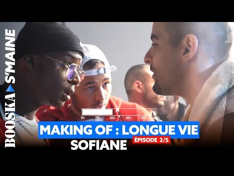 Sofiane - Les coulisses du clip