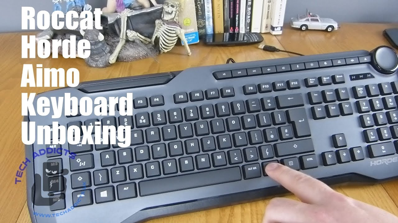 Roccat Horde Aimo Gaming Keyboard Unboxing
