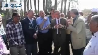 بالفيديو: محافظ المنيا يتابع مشروع الإسكان الاجتماعي بمطاي ويشدد علي سرعة إنجاز الأعمال