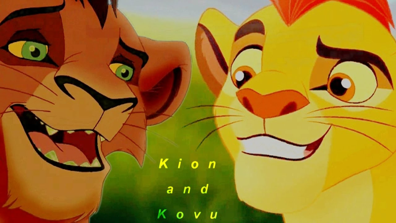 Kion and kovu the coldest shoulder youtube - Kion le roi lion ...