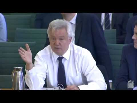 Brexit: Jonathan Edwards Questions David Davis 15 Mar 2017