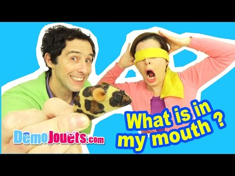 (CHALLENGE) What's in my mouth challenge - On l'a fait ! - Démo jouets