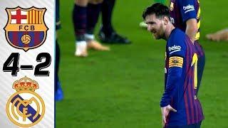 🔥 Барселона - Реал Мадрид 4-2 - Обзор Матча Чемпионата Испании 23/04/2017 HD 🔥