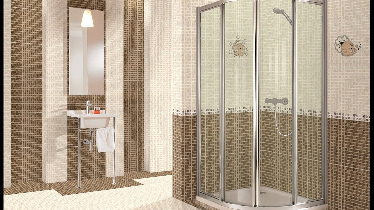 Tile For Bathroom Shower Designs With Glass Tile For Bathroom