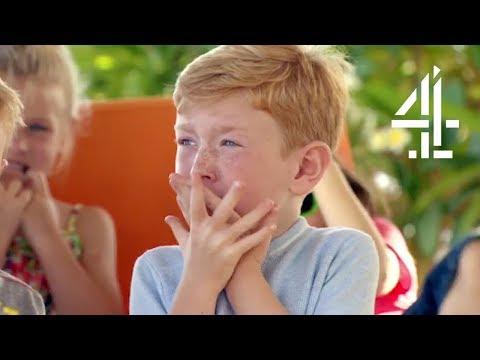 Kids Taste Fish Eyeballs | The Secret Life Of 4, 5 & 6 Year Olds On Holiday