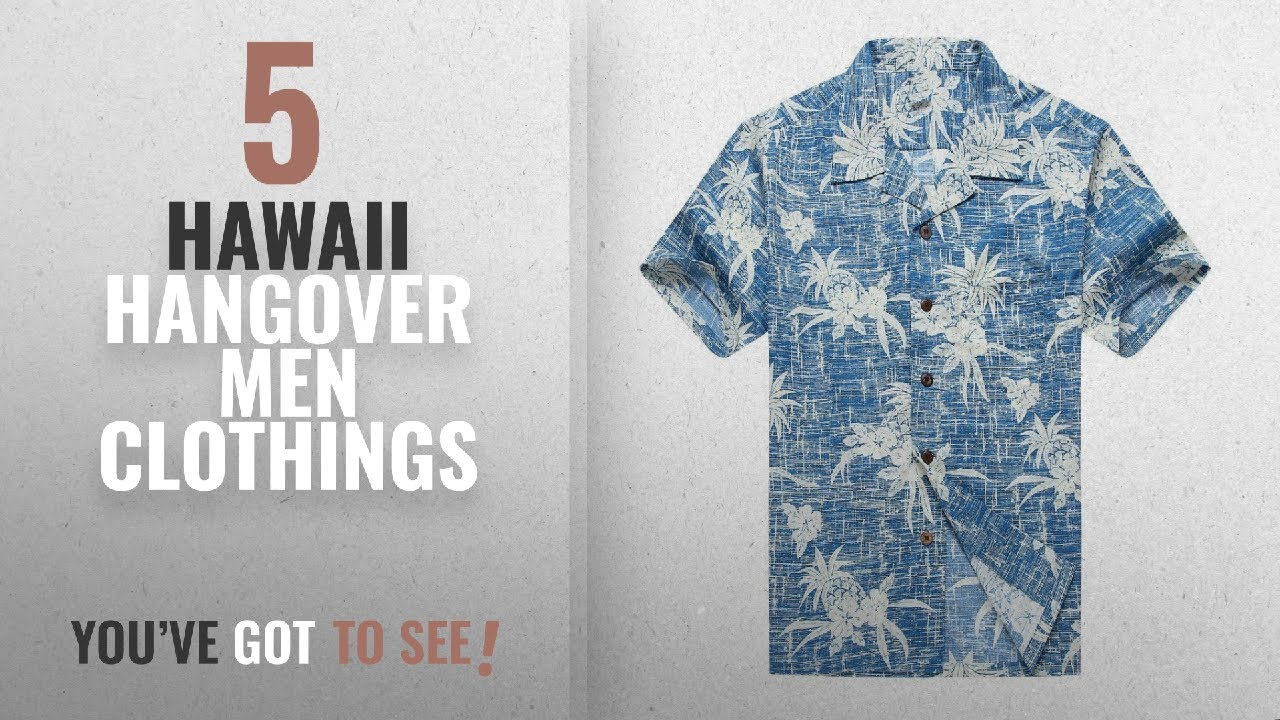 bd1a956fb Top 10 Hawaii Hangover Men Clothings [ Winter 2018 ]: Men's Hawaiian ...