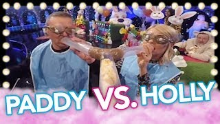 Team Captains Paddy McGuinness & Holly Willoughby Go Head-to-Head! | Celeb Juice 2019