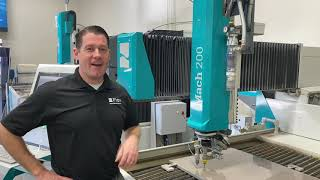 Take a look behind the doors of Flow Waterjet's Customer Technology Center - LIVE Waterjet Cutting!