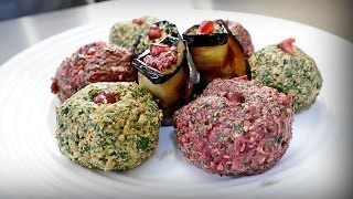 Рецепт пхали. Грузинская острая закуска на основе орехов