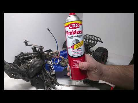 How to clean the bearings in your Traxxas Slash
