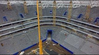 "Устанавливают кресла / Стадион ""Самара Арена"" / stadium ""Samara Arena""  #Russia"