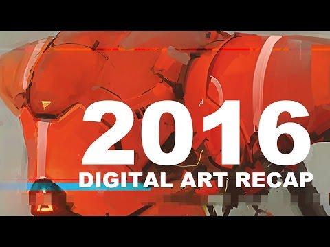 My 2016 Digital Art Recap