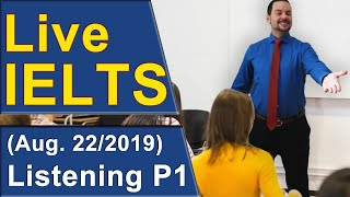 IELTS Live - Listening - Band 9 Skills and Practice