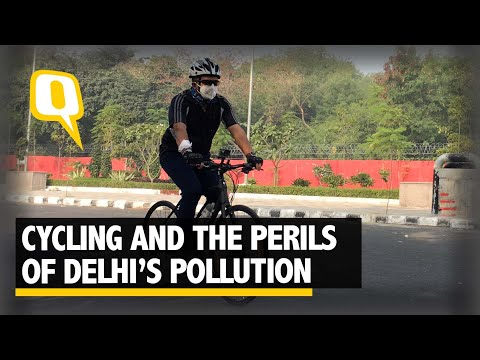 Why Cycling to Work in Delhi Can Be Bad For Health | The Quint
