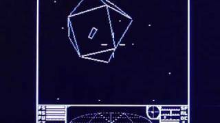 Elite on Acorn Electron 8 bit vintage home computer. Gameplay & Commentary