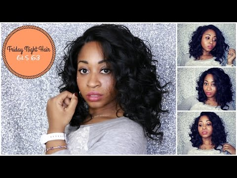 HOW TO ☆ Friday Night Hair GLS63  | Most Natural Effortless  Curly  Protective Hairstyle