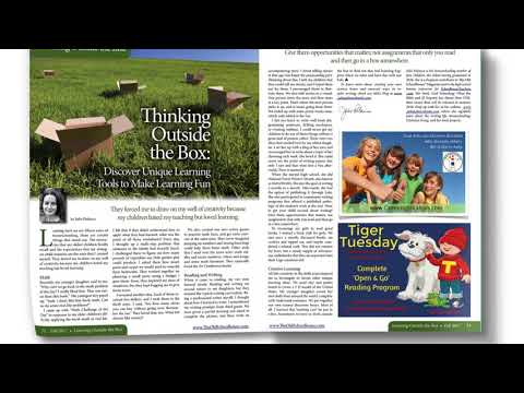The Old Schoolhouse ® Magazine - The Trade Magazine for Homeschooling Families