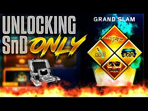 UNLOCKING NEW GRAND SLAM CONTRACT in BO3 SnD ONLY!