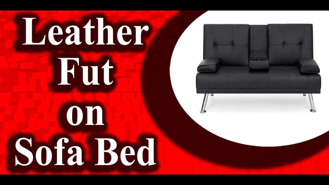Best Sleeper Sofa 2020.Best Choice Products Modern Faux Leather Futon Sofa Bed 2020