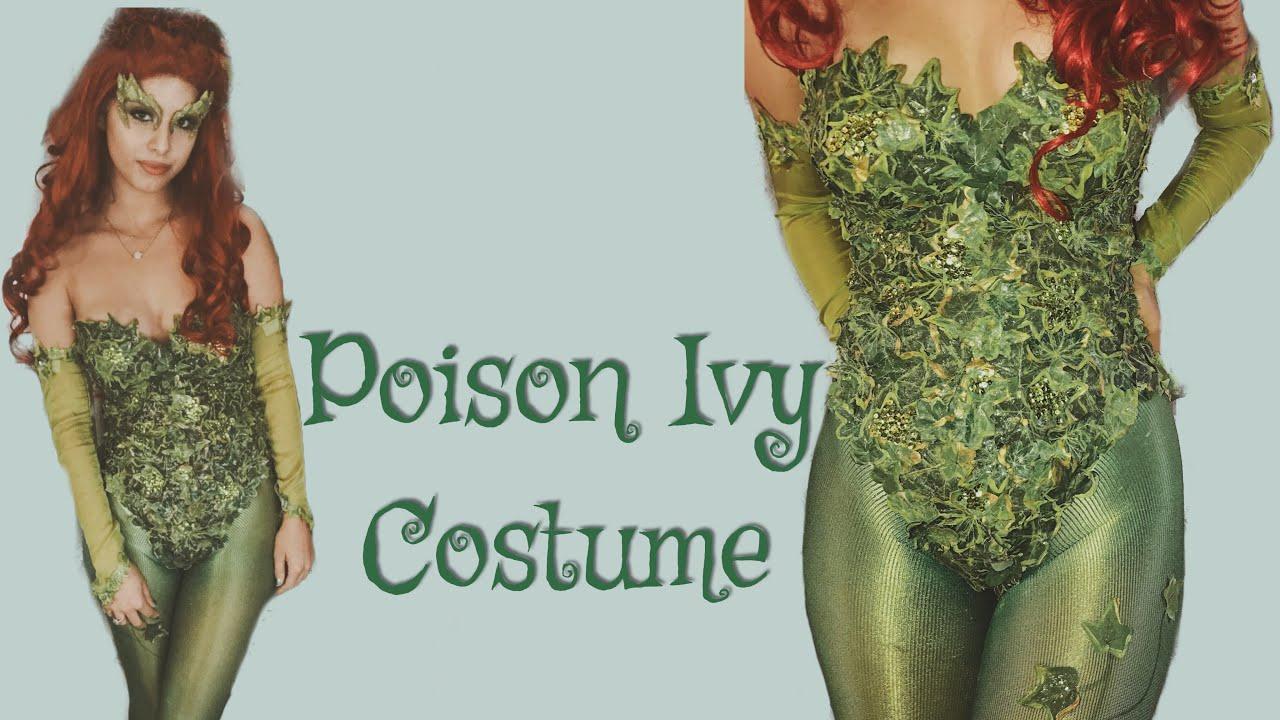 Poison Ivy Costume Uma Thurman Inspired Youtube