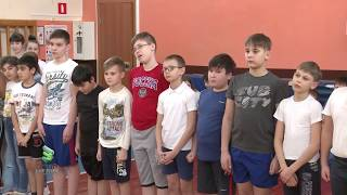 Юнармейское движение в мегионской школе №3