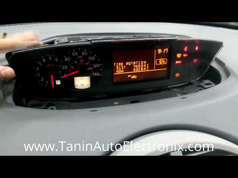 How To Remove 2004-2006 Nissan Quest Instrument Cluster For LCD Screen Repair Or Replacement | TAE