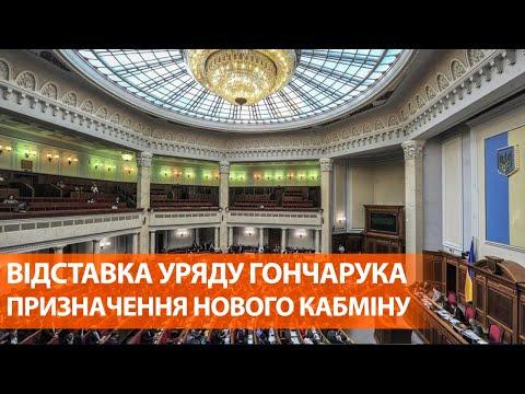 Отставка правительства Гончарука
