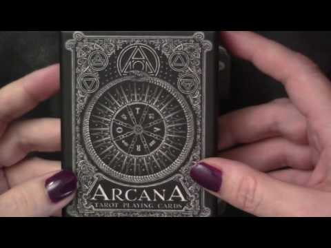 Arcana Playing Card Full Deck Walkthrough, Edging & Sample Reading