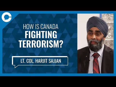 Lt. Col. Harjit Sajjan: Fighting Terrorism
