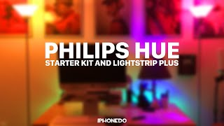 Philips Hue — Starter Kit & Lightstrip Plus