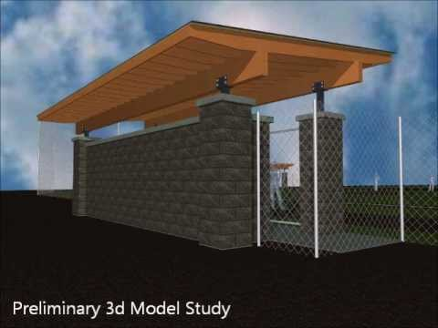Baseball Dugouts For The City Of Star Idaho