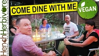TROUBLE FROM THE OFF! Vegan Come Dine With Me 01