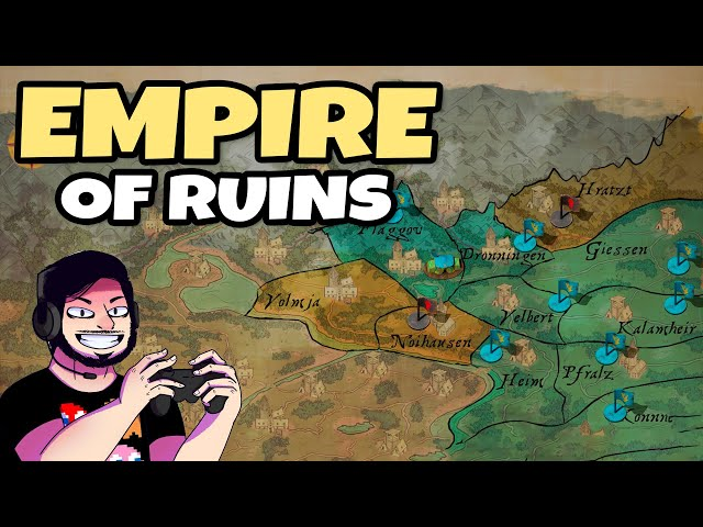 Tower Defense de Dominar REINOS (Empire of Ruins - Gameplay Português)