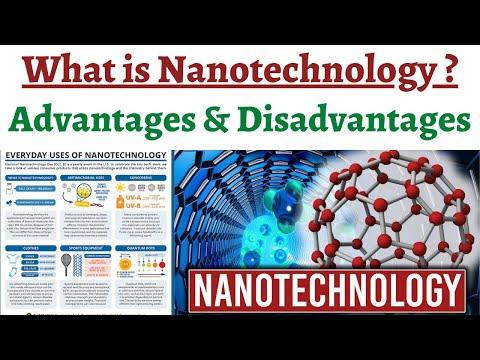 What is Nanotechnology, Its areas of application, Advantages & Disadvantages, Potential in India