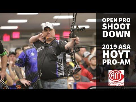 2019 ASA Hoyt Pro/Am Men's Open Pro Shootdown