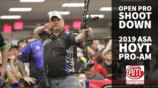 2019 ASA Hoyt Pro/Am Men's Open Pro Shootdown | Foley, AL