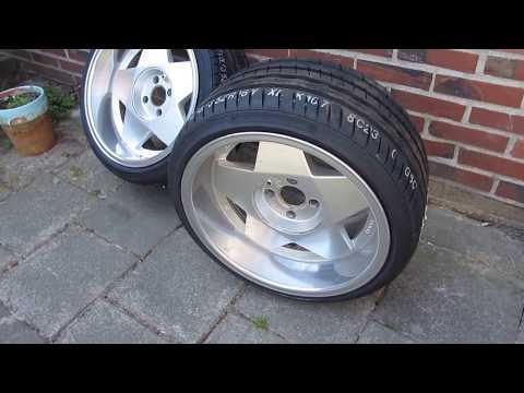 Hankook Tires Ventus S1 EVO Borbet A Alloy Car Alu Wheels / Llantas De Aleacion
