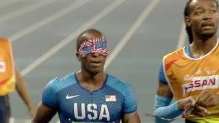David Brown | Men's 200m T11 Round 1 | 2016 Paralympic Games