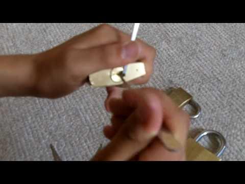 Lockpicking Schloss knacken deutsch giveaway pickset + schlagschlüssel