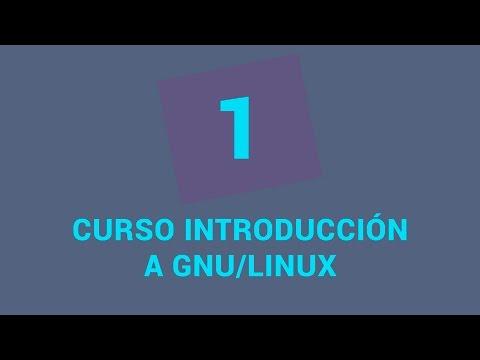 1.- Curso de introducción a GNU/Linux - Presentación