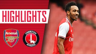😍 Lacazette, Aubameyang, Nketiah and Willock all score! | Arsenal 6-0 Charlton | Match highlights